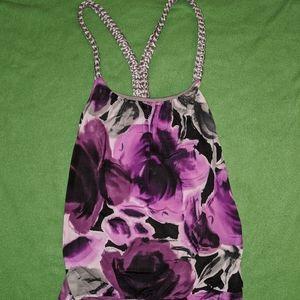 Woman's strapless dress shirt